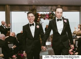 'Big Bang Theory' Star Jim Parsons Marries Longtime Partner