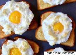 L'oeuf nuage, nouveau déjeuner vedette d'Instagram