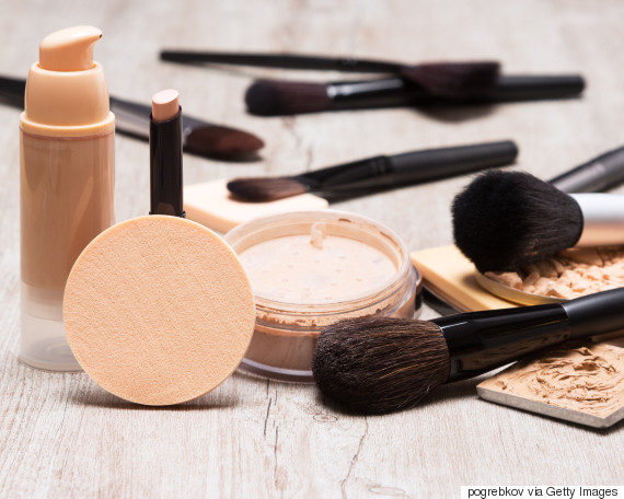 messy cosmetics