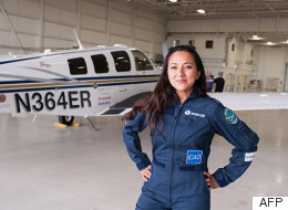 She's 29. She's A Refugee. And She's About To Make Aviation History.
