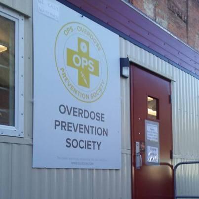 overdose prevention society