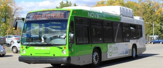 NOVA BUS ELECTRIC BUS