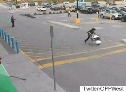 세계 최악의 좀도둑이 영상에 포착됐다