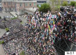 서울로 '슈즈트리' 작가가 '흉물 논란'에 입을 열었다(사진)