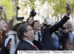Trudeau, Couillard et Coderre lancent l'anniversaire de la fondation de Montréal