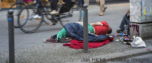 HOMELESS PEOPLE GERMANY
