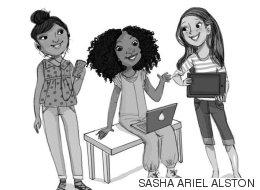 한 대학생이 소녀들을 위한 '코딩 동화'를 썼다