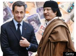 La campagne de Sarko financée par la Libye