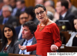 Freeland Backs Magnitsky Act Targeting Russia