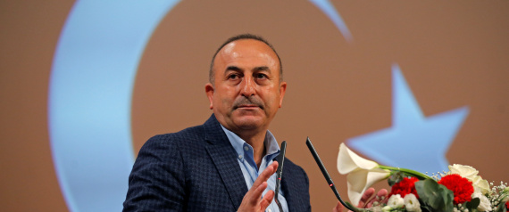 FOREIGN MINISTER MEVLUT CAVUSOGLU TURKEY