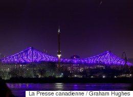 Coderre veut reprendre l'illumination du pont