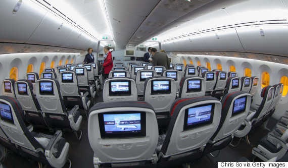 airplane cabin canada