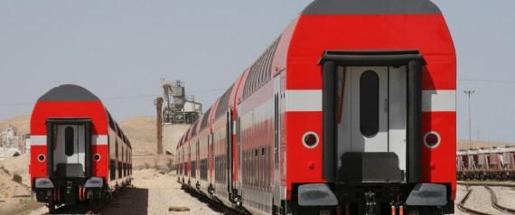 TRAINS BOMBARDIER ISRAEL
