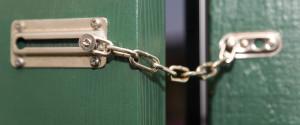 Chain Door Open