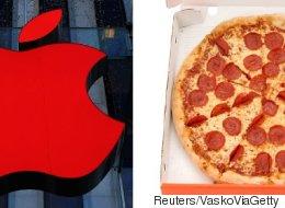 피자 애호가를 위한 애플의 발명품