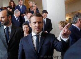 Emmanuel Macron verwehrt Journalisten den Zugang zum Innenhof des Élysée-Palasts