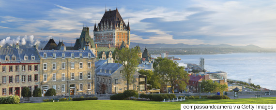 quebec panorama
