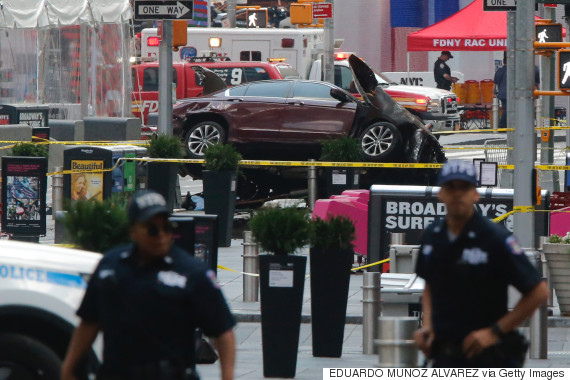 Times Square driver wanted to 'kill them all'