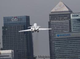 Im Kontrollturm des London City Airports sitzt in Zukunft kein einziger Flugsicherheitsmitarbeiter mehr