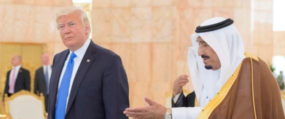 DONALD TRUMP ARABIA