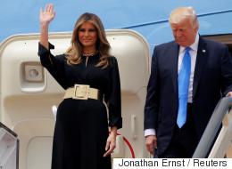 Melania et Ivanka Trump au centre de tous les regards en Arabie