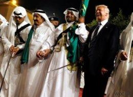 110 Milliarden in Waffen: Trump schwingt nach Saudi-Deal das Tanzbein