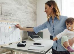 Selbstbewusste Eltern sind leistungsfähiger im Job