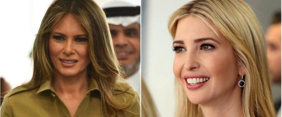 إذا كانت ميشيل أوباما تلقت هدايا بمليون$ فما الذي حصلت عليه ميلانيا وإيفانكا من السعوديين؟