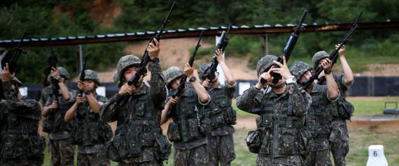 SOUTHKOREA ARMY