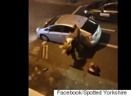 Βίντεο: Γυναίκες επιτέθηκαν με μπουνιές και κλοτσιές σε οδηγό ταξί στην Αγγλία. Στο στόχαστρο... και το αυτοκίνητό του