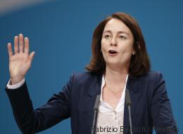 SPD-Generalsekretärin Barley kündigt eigenes Wahlprogramm an - und geht auf die Union los
