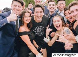 Εσείς εάν συναντούσατε τον Τριντό με σορτς δεν θα βγάζατε μια selfie;
