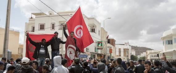 TUNISIA FLAG TATAOUINE