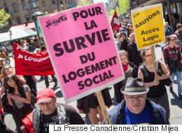 Logement social: le FRAPRU lance une semaine de manifs et d'occupations