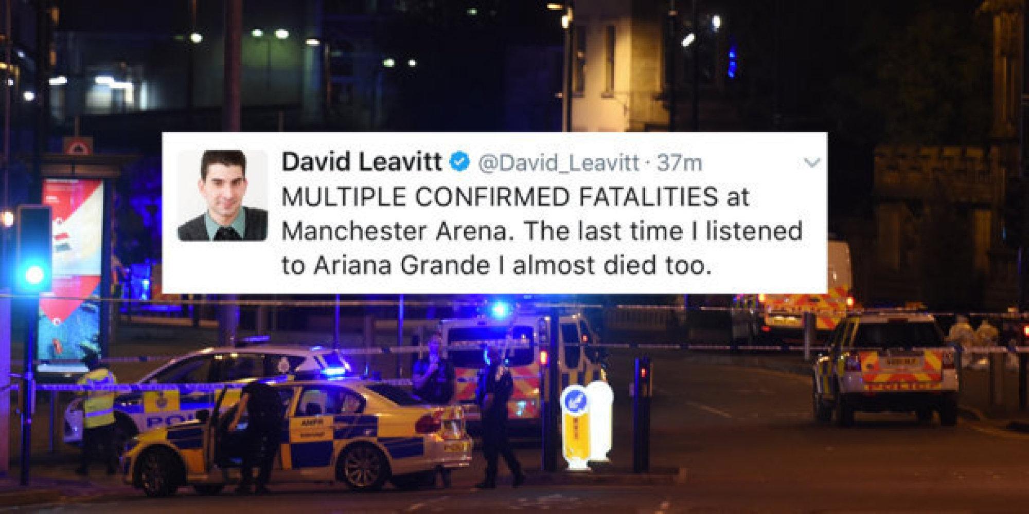 Attentat Facebook: Explosion à La Manchester Arena: La Mauvaise Blague De Ce