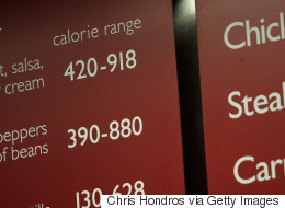 Calories On Menus Are Making Healthy Choices Even Harder