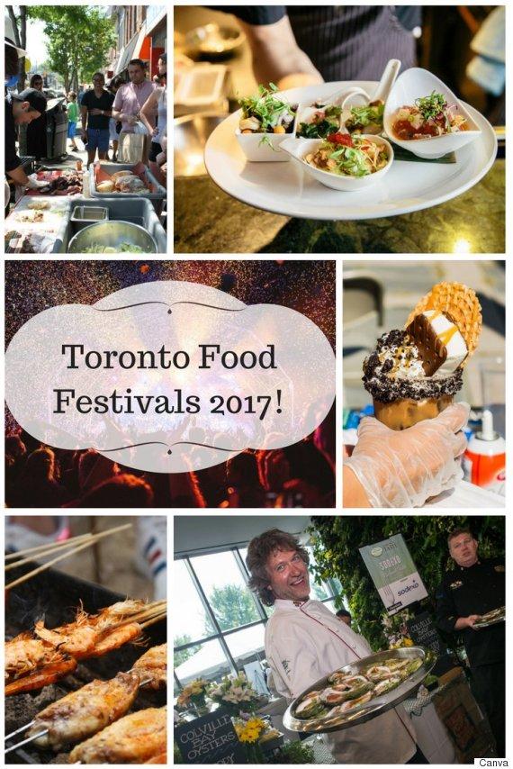 toronto food festivals 2017