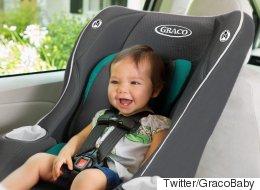 Un rappel sur des sièges d'auto pour enfants au Canada