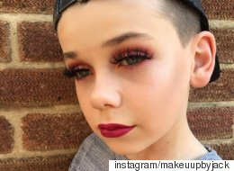 This 10-Year-Old Boy Is Everyone's New #MakeupGoals
