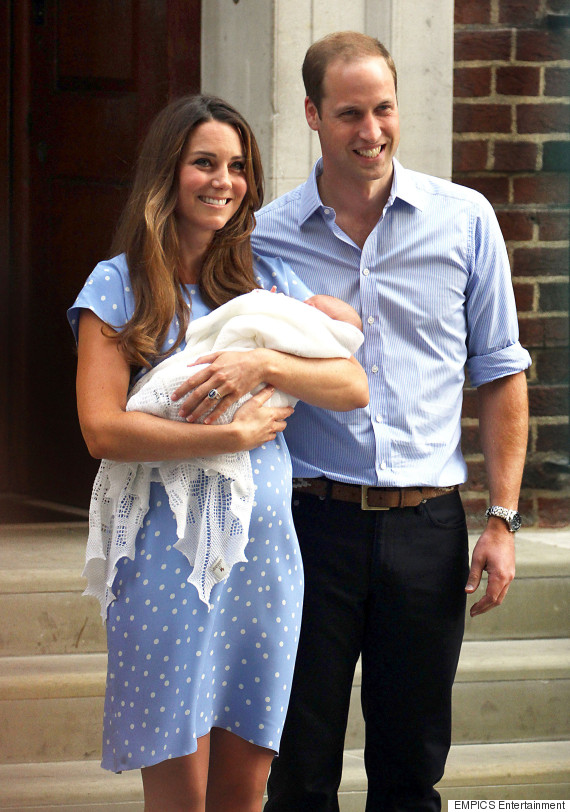 duchess of cambridge prince george birth