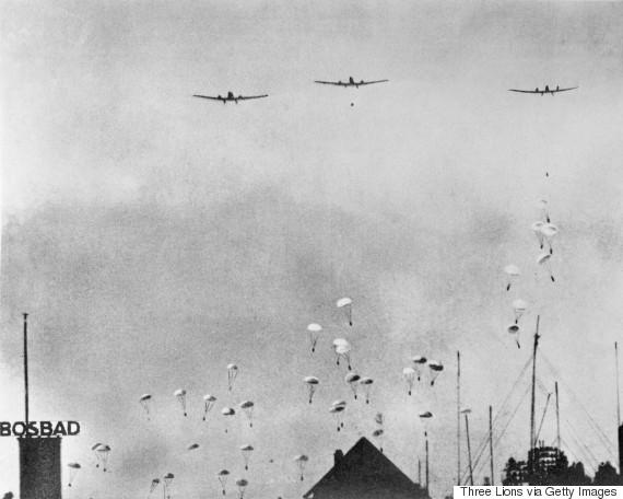 german parachute troops world war ii