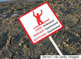 Τι πρέπει να κάνετε αν παγιδευτείτε σε κινούμενη άμμο