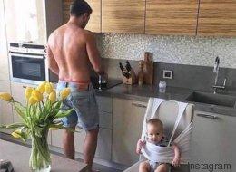Elf Beweise, dass sich Väter zu helfen wissen, wenn es drauf ankommt