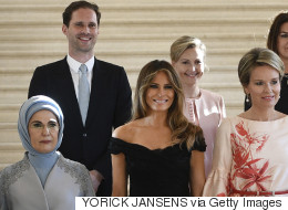 Luxembourg's Gay First Gentleman Joins Wives For Glorious NATO Photo