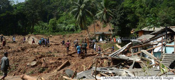 Σρι Λάνκα: Τουλάχιστον 164 είναι οι νεκροί από τις καταρρακτώδεις βροχές και τις κατολισθήσεις