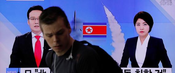 MISSILE NORTH KOREA
