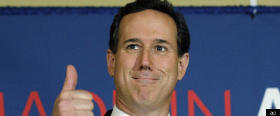 Santorum In Louisiana