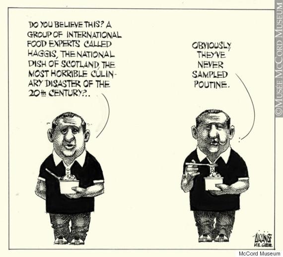 poutine cartoon