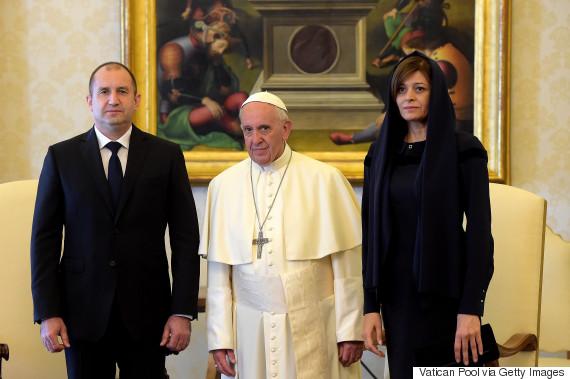 pope francis rumen radev