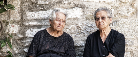 ELDERLY GREECE